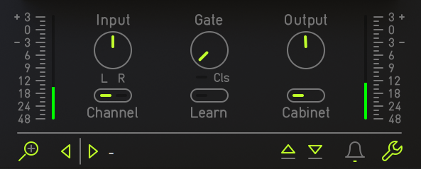 Audified Sphene Pro Review gate input output settings