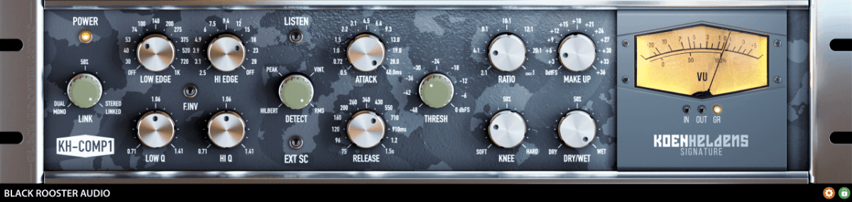 Black Rooster Audio KH-COMP1 Review main plugin image