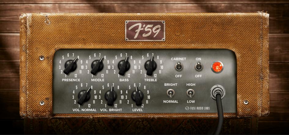 Fuse Audio Labs F-59 Review Main Plugin Image