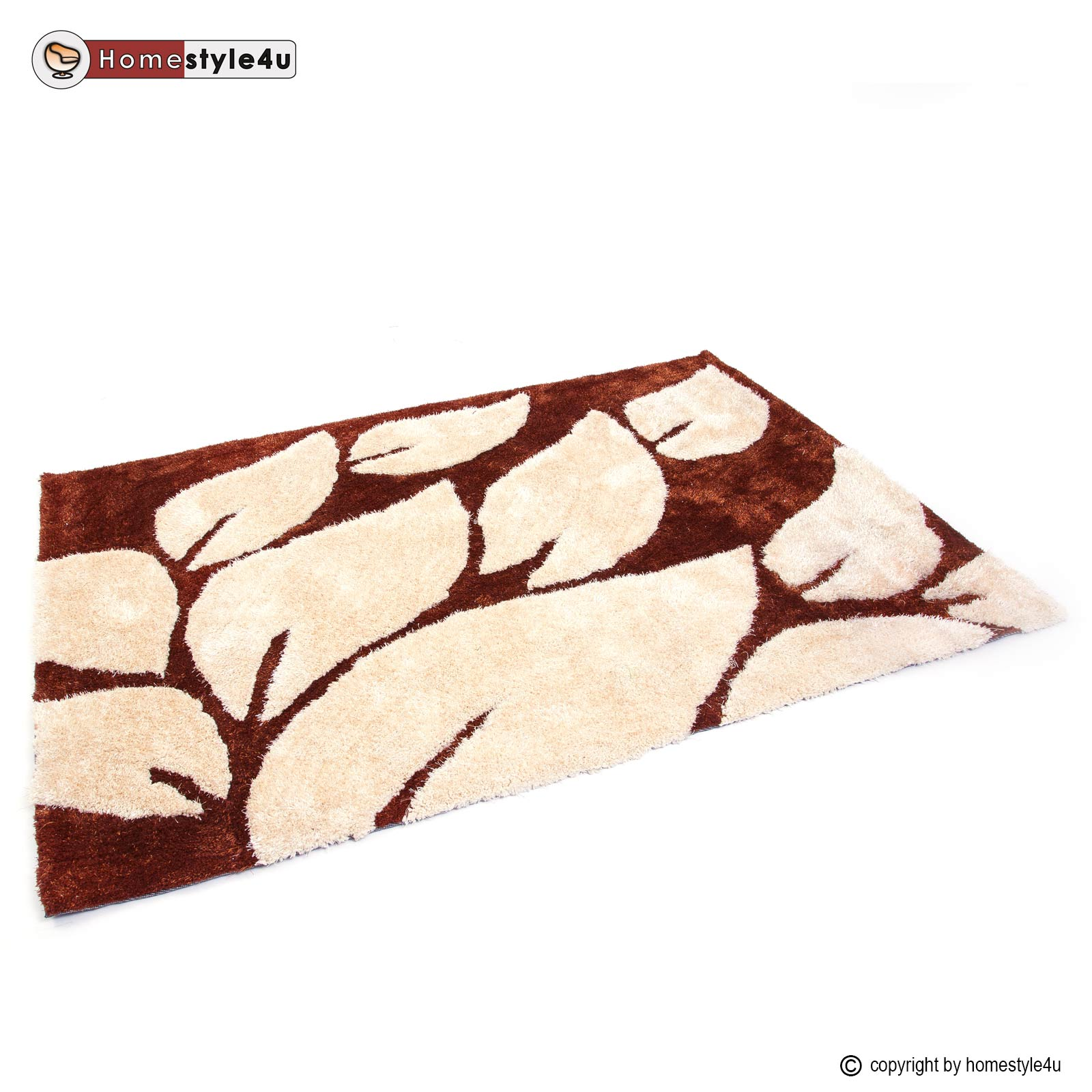 Shaggy Teppich Ivory Shaggy Rugs 80 X 150 Brown Carpet