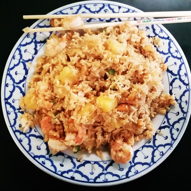 Pineapple Fried Rice.
