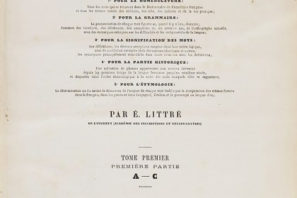The Great Littre Dictionary