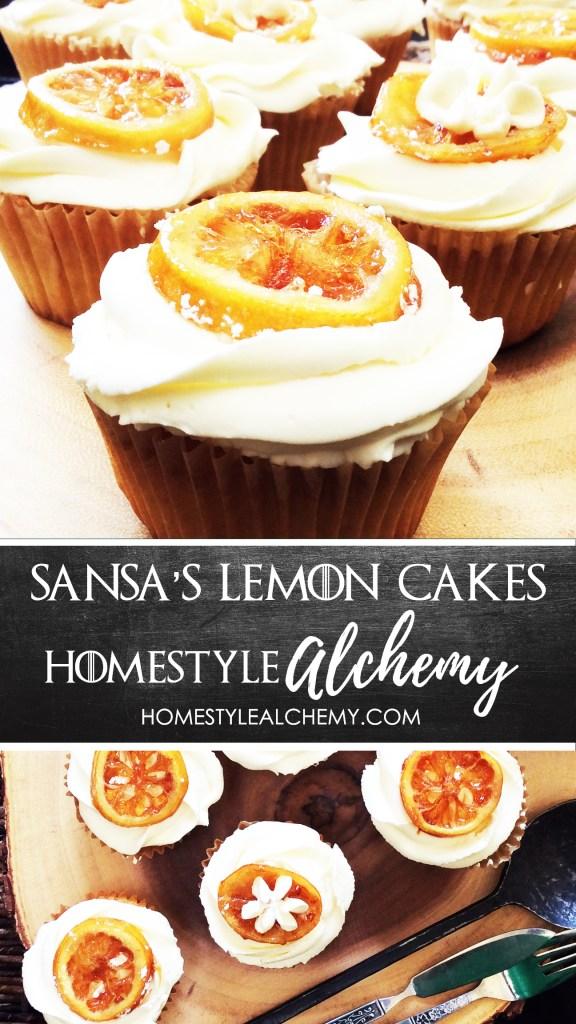 Game of Thrones Lemon Cakes