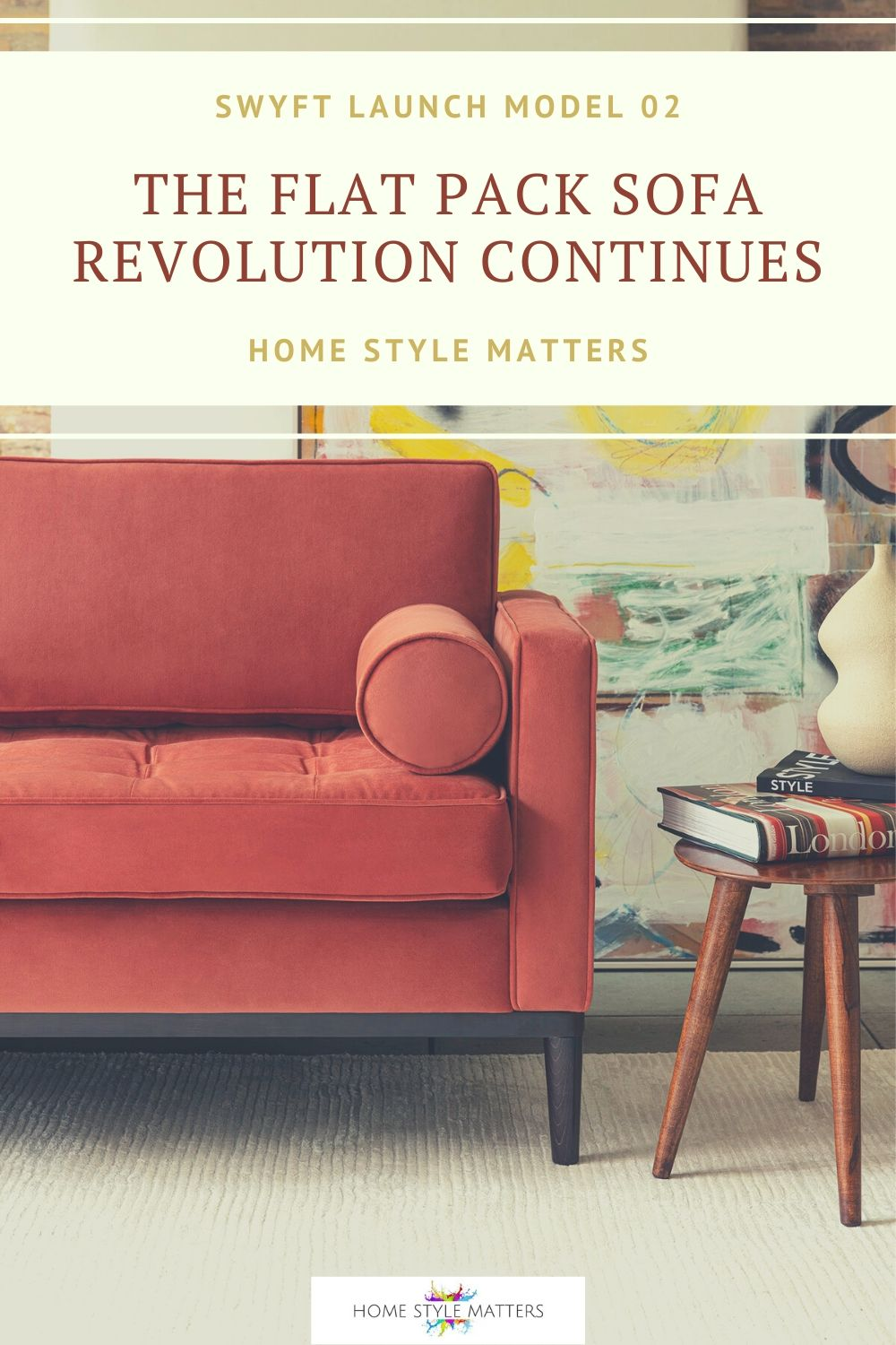 Swyft flat pack sofas have launched Model 02 and we think you're going to love it! The Mid-century look is back and Model 02 is leading the renaissance.