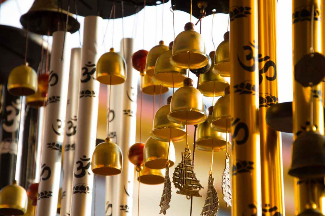 Placing Wind Chimes for Feng Shui