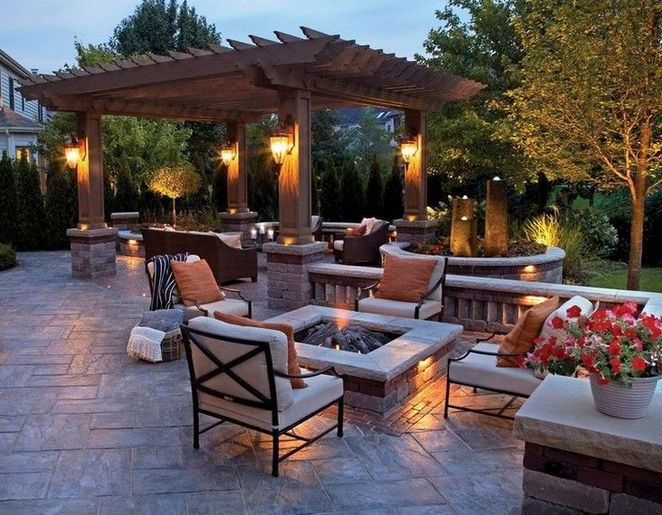 the trick for outdoor backyards patio