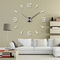 37+ Modern 3D DIY Frameless Wall Clock Help 23