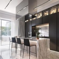 +37 The Supreme Approach To Creative Kitchen Black Cabinet Ideas Trend In 2019 6