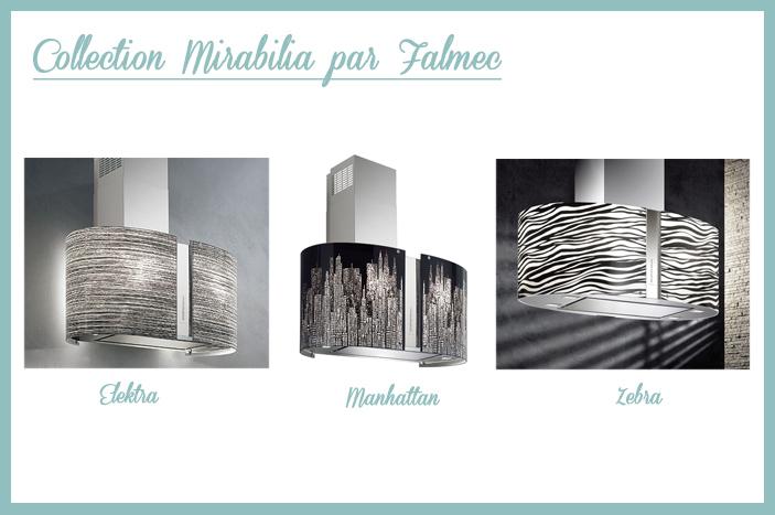 collection Mirabilia par falmec hotte