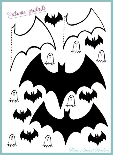 pattern patron halloween