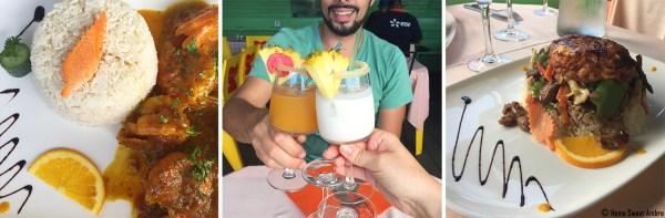 Les 5 orangers, restaurant à sainte-anne île de La Réunion