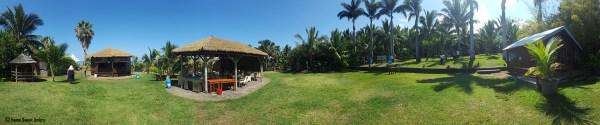Panoramique maison du coco la Réunion