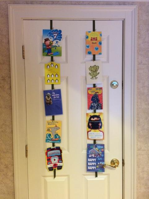 A Creative Way To Display Greeting Cards Home Sweet Mama Mia