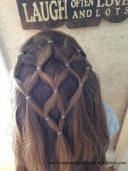 girls hair design home sweet