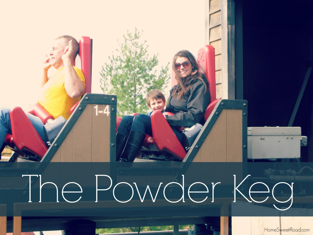 Powder keg silver dollar city with kids