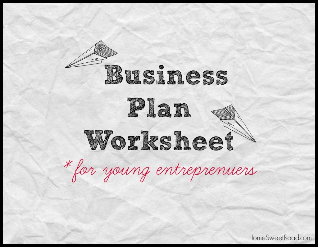 Business Ideas For Kids Series Writing A Business Plan