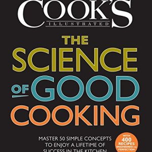 Science of Good Cooking book cover