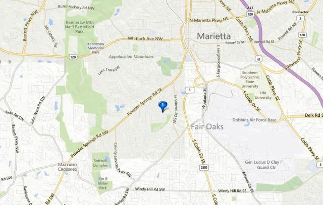 Woodchase Marietta Gated Condo Neighborhood