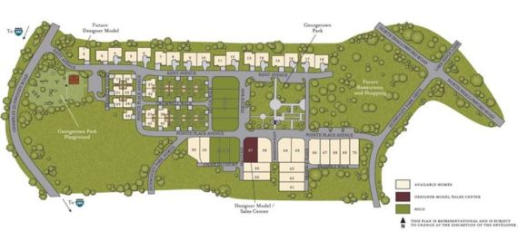 Dunwoody Green Neighborhood Site Plan