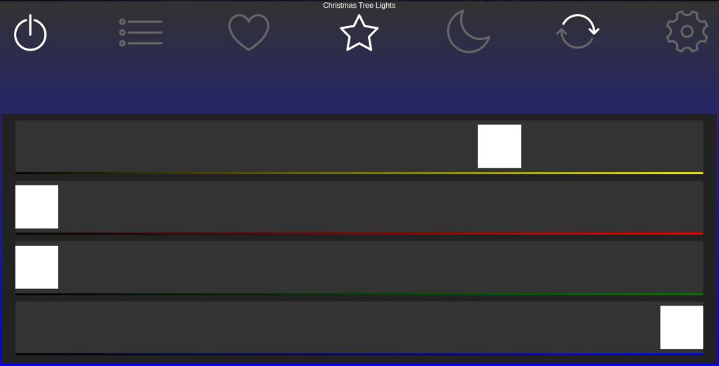 WLED Desktop Interface