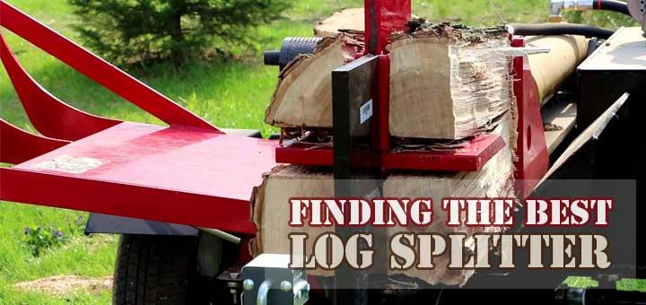 Best Log Splitter Reviews  Hydraulic Electric Gas Wood