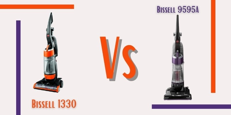 Bissell 1330 vs 9595A