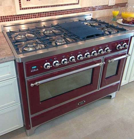 cast iron kitchen stove how to paint stained cabinets white modular ranges cooking accessories for a home chef majestic range with optional grill pan from ilve by eurochef