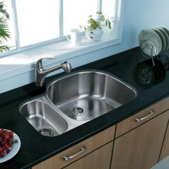 Stainless Kitchen Sinks Islands On Wheels Steel More Than Just A Budget Bargain Double Bowl Sink From Vigo Industries
