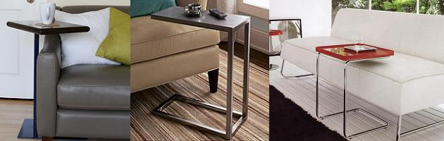 stylish tv trays that combine utility