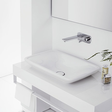 installing a wall mounted faucet and