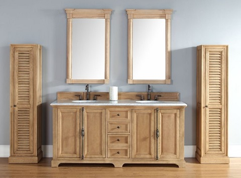 Providence 72 Unfinished Bathroom Vanity In Natural Oak 238 105 5721 From James Martin Furniture