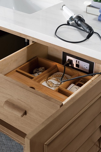 How To Install An Outlet In A Drawer