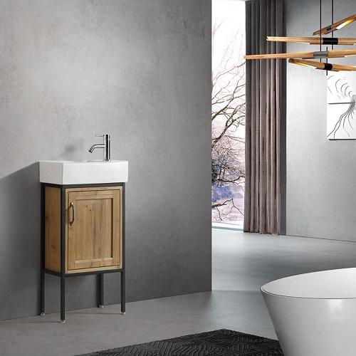 industrial bathroom vanities a stylish