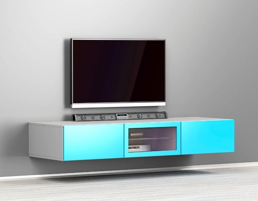 best distance between tv and soundbar