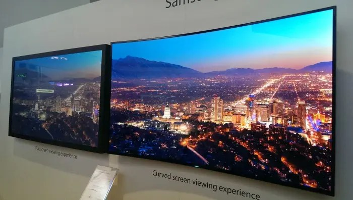 Has the Curved Screen Killed OLED