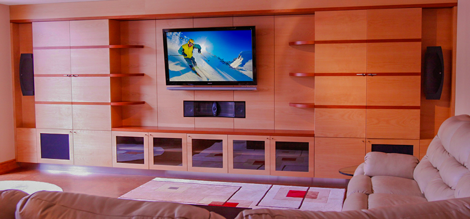 Home Theater Design  Entertainment Center Design