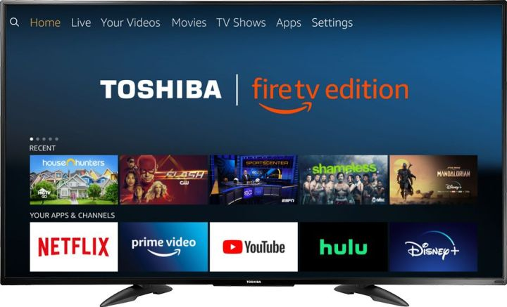 Amazon Selling Toshiba 55-inch 4K TV For $299