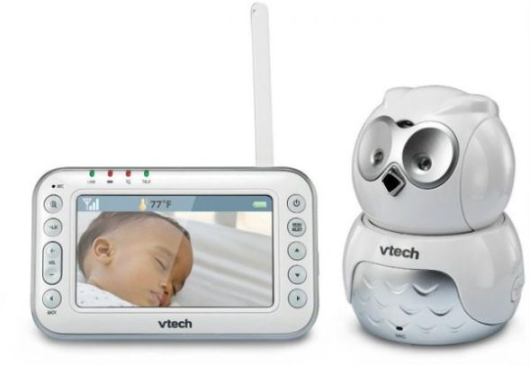 Vtech Safe and Sound Owl Pan and Tilt Video Baby Monitor Review