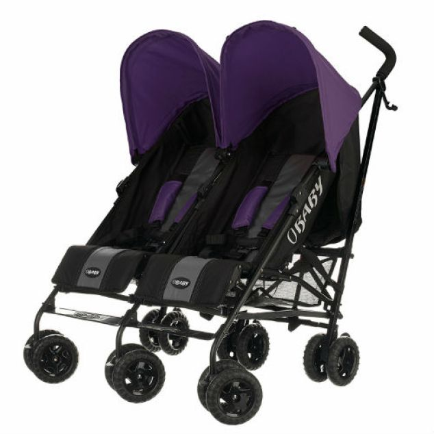 Obaby Apollo Black & Grey Twin Stroller Review