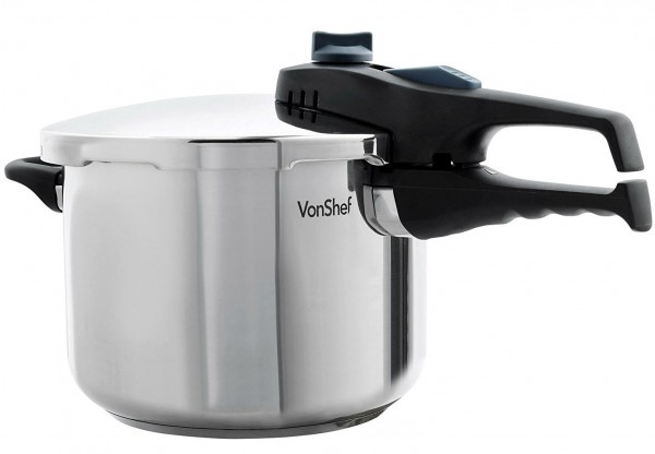 VonShef 6L Stainless Steel Pressure Cooker Review