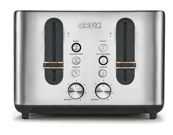 Crux Stainless Steel 4 Slice Toaster Review