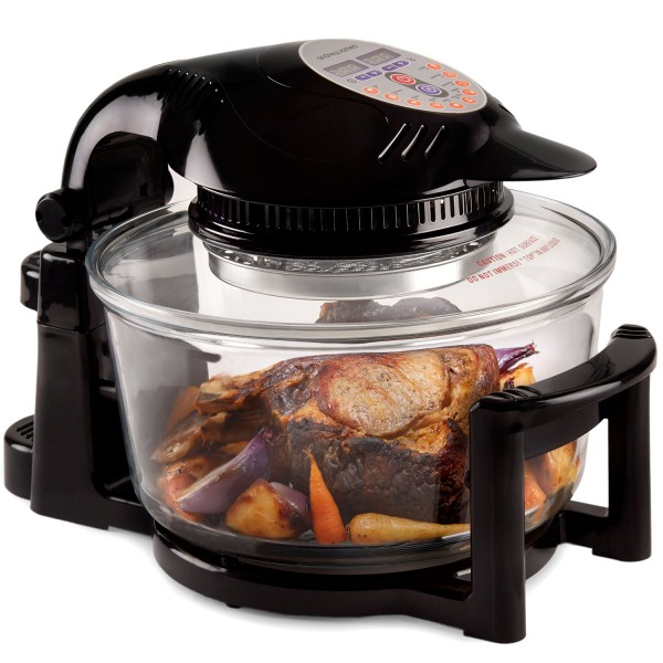 Andrew James 1400w 12 litre Digital Halogen Oven with Accessories