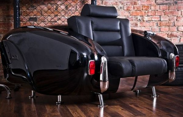 Auto parts inspired furniture