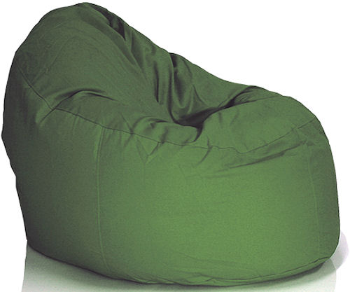 green bean bag chair shabby chic living room chairs kids 7 most comfortable hometone home your beanbag doesn t have to be confined the but you can plan it for too these from sploosh