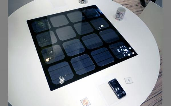 Panasonic solar powered countertop