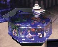 Most elegant coffee tables with built-in aquarium - Hometone