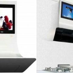 Smart Tv Kitchen Outdoor Sink Station Watch While Cooking Hometone Home Automation Television Is Surely One Of The Best Sources Entertainment Many A Times We Have To Give Miss Our Favorite Programs As Re Busy Preparing