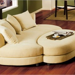 Oval Sofa Restoration Hardware Lancaster Knock Off Roundabout And Ottoman Set Made For Each Other