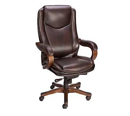 staples office chairs captains chair gym exercises comfortable hometone home automation and eastcott top grain leather executive mid back is a classic this one will offer you ultimate seating comfort nice style