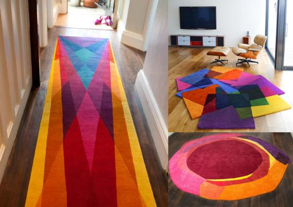adds multiple hues to your room the `rug' way - hometone - home